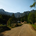 Touristic routes open for public on the mountain Ceahlau – Romania