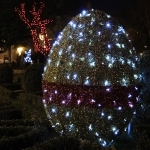 Easter Lights in Piatra Neamt