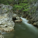 Hiking in Neamt County: The Waterfalls from the Stone Piatra Altarului, Cheile Bicazului