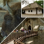 Three of the most visited attractions from Targu Neamt area