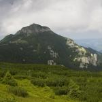 Jgheabul cu Hotaru route in Ceahlau Mountain