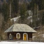 Traditional Romanian architecture in Neamt Count: Bicajelul de Jos village
