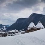 Winter images in Bicajel Gorges