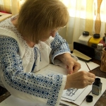 Cecilia Haisan – local artisan from Piatra Neamt