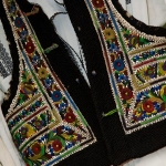 The local folkloric clothing in Neamt County
