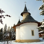 Winter at Sihastria Monastery