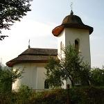 """""""Pogorarea Sfantului Duh"""" Church from """"Palatul Cnejilor"""" Palace Ceahlau"""