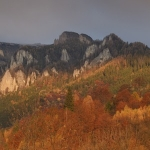 Autumn at the foot of Ceahlau Mountain