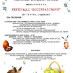 "Festival ""Joy of Light"" – ed VII Targu Neamt"