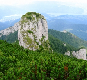 """Ceahlău Massif – """"a giant who's forehead is caressed by the sun"""""""