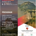 Ceahlău Mountain Festival – 44th edition: 4th-5th of August 2018