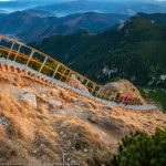 The stairs that lead to Toaca Peak in Ceahlău Massif, over 1 mil. views on Facebook