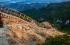 The stairs that lead to Toaca Peak in Ceahlău Massif, over 1 mil. views on Facebook