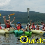 A new adventure on Lake Izvorul Muntelui, a new exciting experience!