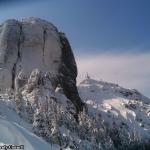 Legendary rocks in Ceahlău Masif