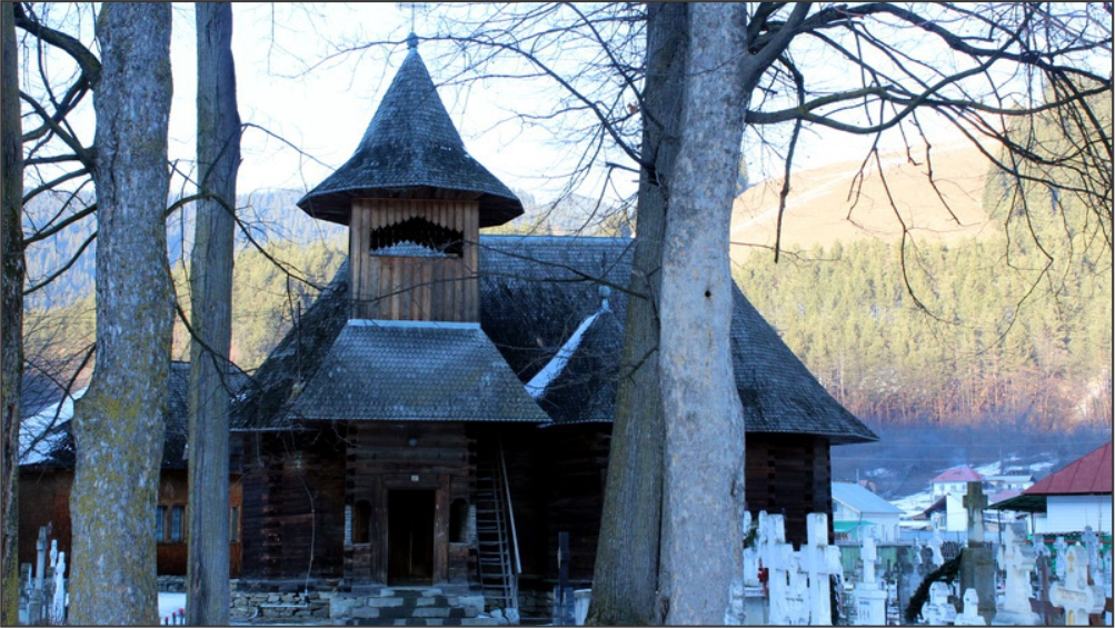 Wooden church Galu