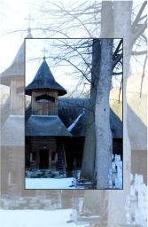 Wooden church Galu