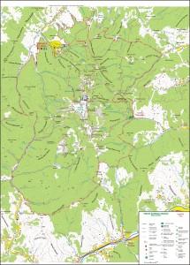 Ceahlau_National_Park_Map