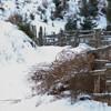 Cheile Bicajelului during winter