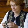 Local artisan Ionela Lungu from Humulesti, Neamt County