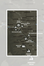 Maps Touristic Routes Neamt County