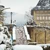 Piatra-Neamt the first snow 2011