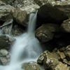 Waterfalls near the Stone Piatra Altarului - Cheile Bicazului