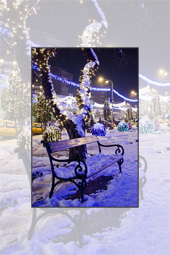 Piatra Neamt during the winter holidays