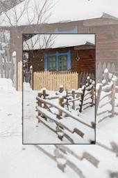 Barnadu village during winter - January 2013