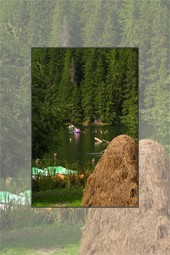 Bicaz Gorge - touristic summer destination