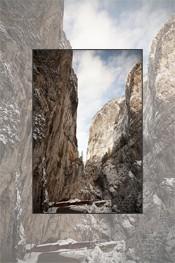 Winter walk through Bicaz Gorge