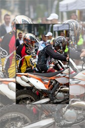The first day of Hard Enduro Piatra Neamt 2013