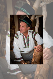 The local artisan Vasile Neamtu