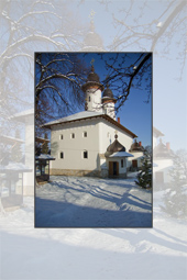 Visit Neamt monasteries during winter