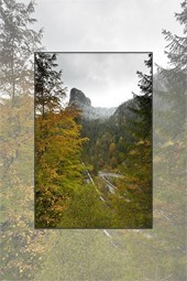 Autumn pastel in Bicaz Gorge