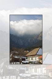Touristic Area Izvorul Muntelui from Neamt County
