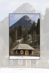 Traditional Romanian architecture: Bicajelul de Jos village