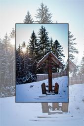 Winter images in Tarcau area 2012
