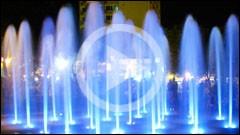 The Musical Fountain Piatra Neamt