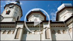 St Joan the Baptizer Church from Piatra Neamt